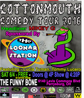 CottonMouth Comedy Tour 2016