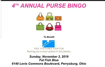 Purse BIngo to benefit The Victory Center
