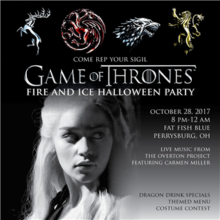 Game of Thrones fire & Ice Halloween Party